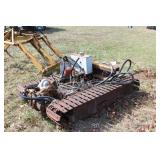 Crawler Trencher Drive train