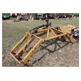 "Hydraulic Grabber 29"" wide teeth approx. 2ft."