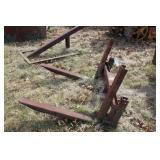 hand crafted Tractor Forks