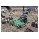 "John deere 48"" cut front deck mower"