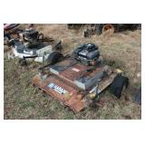Haban Briggs powered Tow behind mower