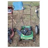 "John deere 21"" cut push mower"