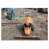 Kingco KMG-38 sickle bar mower