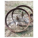 "46"" wagon wheels - Pair - John Deere"
