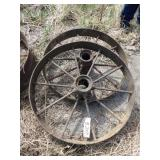 "30"" wagon wheels - Pair"