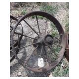 "Single 30x4"" wagon wheel"