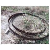 2pcWooden wagon wheel bands