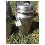 Cream can - stainless w/ spout
