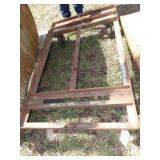 "60x36"" platform cart frame"