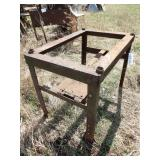 Steel welding table frame