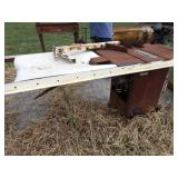 Rockwell unisaw table saw