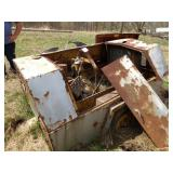 Tankless Compressor Trailer - no engine
