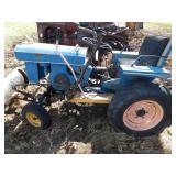 speedex lawn tractor w/ blade & mower