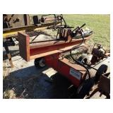 "Husky 22 ton Hydraulic log splitter 1-7/8"" hitch"