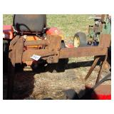 Porta power ram powered log splitter