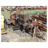 "PTO powered hydraulic log splitter 2"" ball"