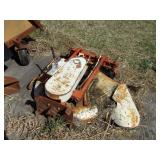 "26"" front mount single blade mower"