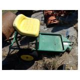 John Deere 2 wheel sulky cart