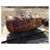 30x70 propane tank converted to air.