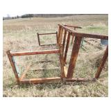2pc steel racks 9