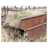 steel dump container