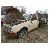 Isuzu Pup 1984 manual transmission 4speed diesel