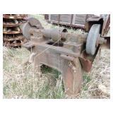 "12"" grinding wheel station."