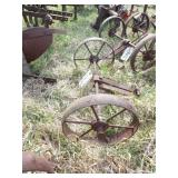 Gravely Steel wheels