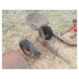 Gravely 2 wheel sulky