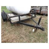 2 wheel trailer w/ ramp