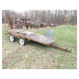 tandem axle small trailer