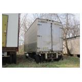 Fruehauf Stainless trailer