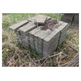 Paver blocks 90pcs+ 16x8.5x2""
