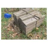 Paver blocks 144pcs+ 16x8.5x2""