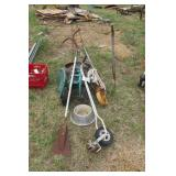 8pc garden tools & accessories