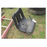 Tractor seat w/ handles