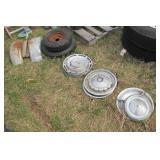 Fenders, hubcaps, & tires