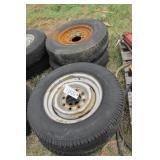 """4pc 16"""" rims w/ tires"""