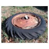 11-38 tire on 8 bolt rim - possibly oliver