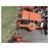 Gravely vertical cultivator attachment