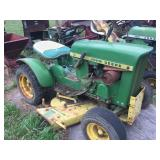 John Deere 110 Riding lawn mower