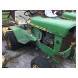 John Deere 120 Riding lawn mower & roto tiller