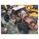 Gravely rear steer tractor with model LW engine