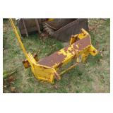 John Deere 600 Backhoe mount Frame