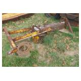 SERVIS 3-point Tow behind road grader frame