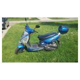 2018 Moped & helmet