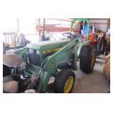 750 John Deere Compact Tractor