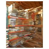 Lumber 10,400 FEET OF PLANED HARDWOOD (stored inside on stickers, clean, cherry, red oak)