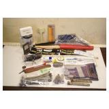 Railroad items: Boxcar seals, coffee cups etc