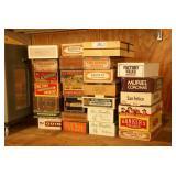27pc Paper Cigar / Tea Boxes